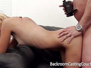 Skinny wild blonde amateur enjoys ass fucking on the Backroom Casting Couch