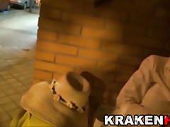Krakenhot Daniela Evans in a exclusive BDSM submission scene