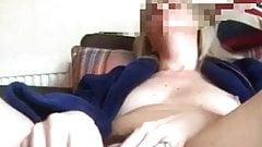 Dildo fuck, fat clit, creamy pussy