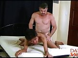 Asian twink Benjamin fucked not by daddy