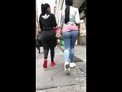 Phat Ass Black And Latin Chicks in Jeans and Leggings's Thumb