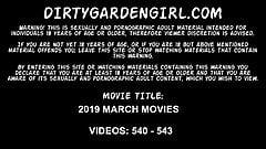 Dirtygardengirl march 2019 news. Prolapse, dildo, fisting