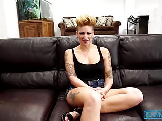 Della cock - Busty tattooed slut della dane takes a ride on hard cock