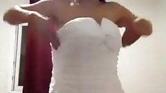 turkish amateur bride webcam show esmer part 1