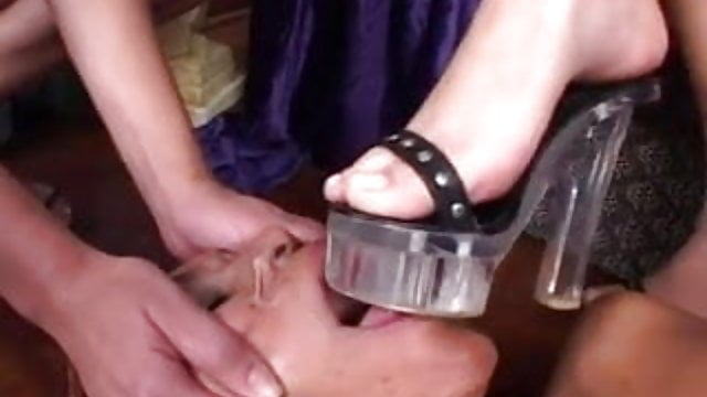 Lesbian Tied Feet Licked