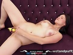 Sex Toys - Ella Martin orgasms with a vibrator