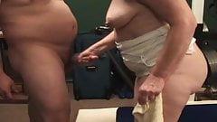 Lesbian orgy nude gif