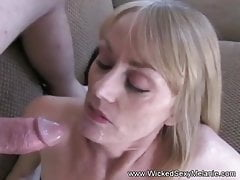Two Cocks For Horny MILF Melanie