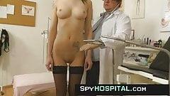Spy cam at obgyn clinic very kinky