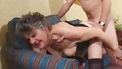 Granny Steph Fucks Young Stud