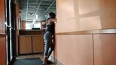 Ebony Teen Bubble Butt Petite Perky