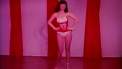 Raven Haired Beauty Dances Seductively (1950s Vintage)