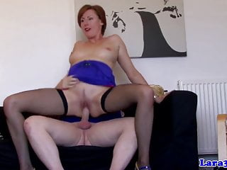 Classy milf gets plowed and cock drools