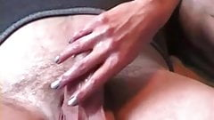 Check My MILF giving a hand and blowjob