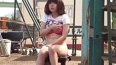 Japanese Teen Gets Caught Masturbating in Public