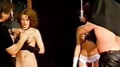 vintage breast hang