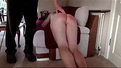 38 strokes of the cane