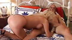 30 something sexy blonde MILF Alex is a hot little fuck
