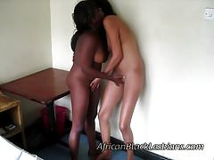 Beautiful big booty Africans in homemade