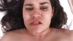 Hispanic BBW's Hairy Asshole Fucked