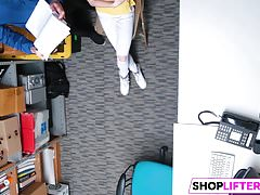 Shoplifting Teen Catarina Gets Banged