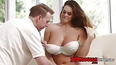 Big Breasted Alison Tyler gets tit fucked