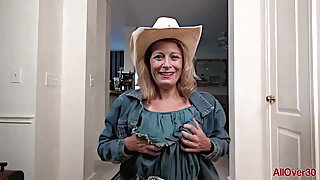 Kinky Cowgirl MILF Jade Allan