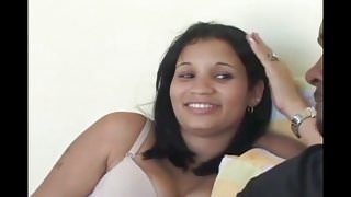 Dominican Amateur Has Threesome And Quits