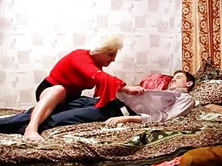 Russian Amateur Mature With Younger