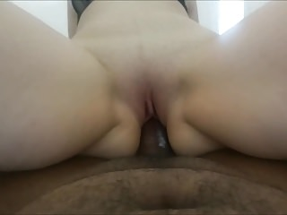 my white bulgarian pawg booty milf riding my siff BBC