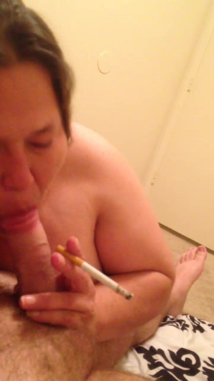 Bbw bj smoking