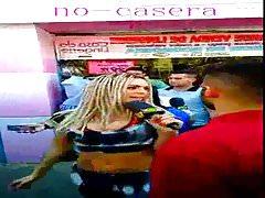 XHGlobovision  mujer rubia entrevista gente