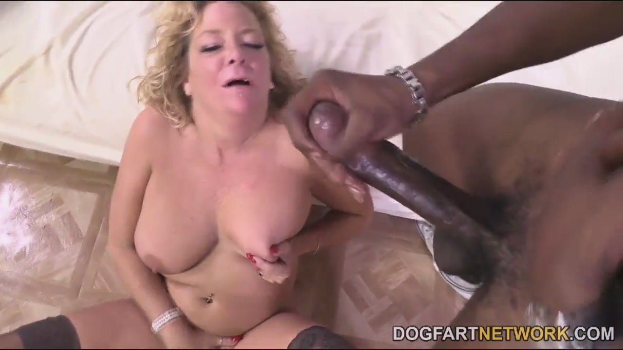 Karen Summer In Her First Ever Interracial Porn Video-2012