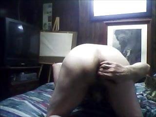 Princess Karpani's panty boy slut fucks himself ass to mouth