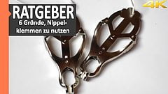 BDSM-Advisor: Reasons why you should use nipple clamps