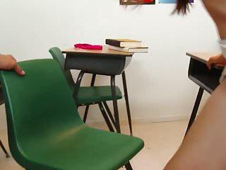 WANKZ- Hottie in KneeHigh Socks in Classroom