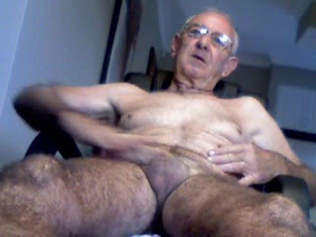 Huge dicked dad wanking 014