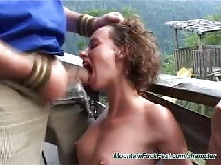 extreme german sex in the mountains