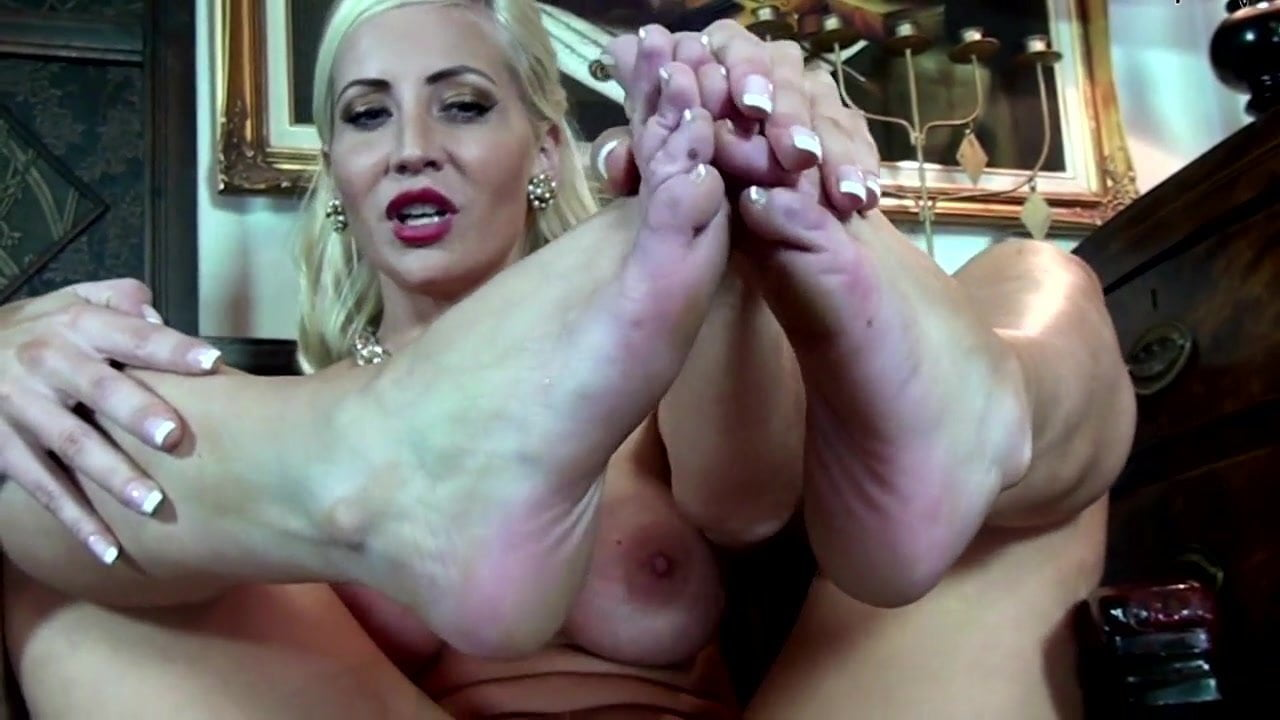 Humiliating and denying you as you worship my feet and soles