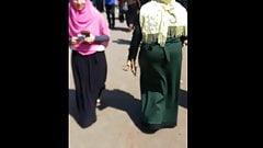 BBW Hijab Ass