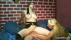 GERMAN MOTHER TEACH STEP DAUGHTER How To Fuck With Guy