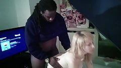 Cindysinx with her big black Daddy part 1