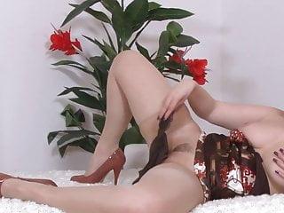 Stockings holdup Milf jarka