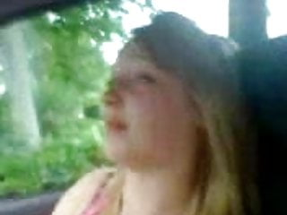 Adults essex - Essex girl fran flashing tits in car