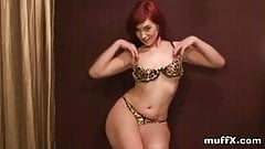 Felicia is naughty red hair slut