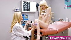 Kenzie Reeves and Serene Siren have lesbian banging together