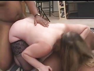 IR Horny mature having her fantasy sex with two BBC