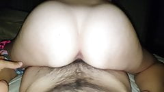 Wife fucks for cum