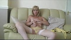 Sally milf office work gets naked