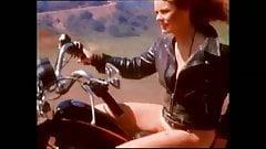 Elvira strip and a Biker girl